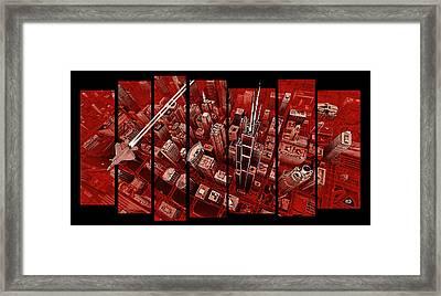 Gotham Framed Print by Robin DaSilva