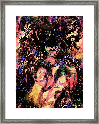 Gothic Queen Framed Print by Natalie Holland
