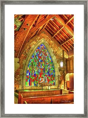 Grace Abounds Ida Cason Callaway Memorial Chapel Art Framed Print by Reid Callaway