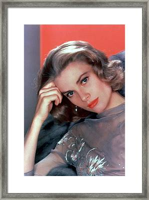 Grace Kelly Framed Print by American School
