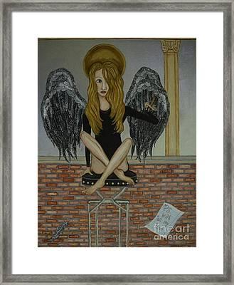 Grace Framed Print by Wendy Wunstell