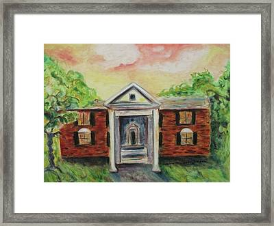 Graceland Framed Print by Suzanne  Marie Leclair