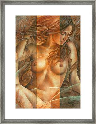 Gracia2 Framed Print by Arthur Braginsky