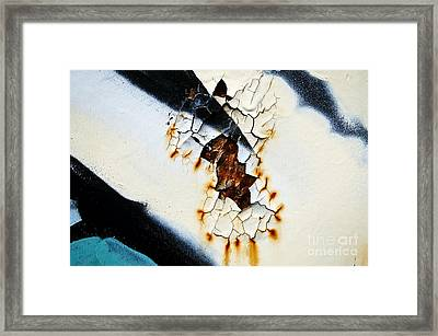 Graffiti Texture II Framed Print by Ray Laskowitz - Printscapes