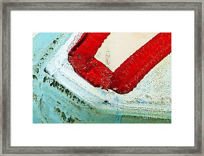 Graffiti Texture IIi Framed Print by Ray Laskowitz - Printscapes