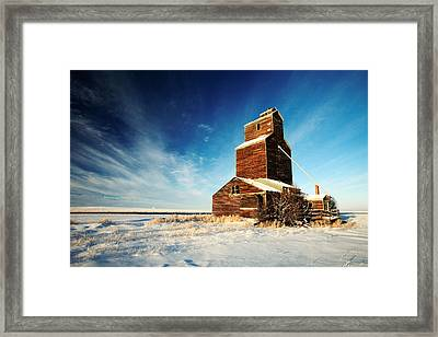 Granary Chill Framed Print by Todd Klassy