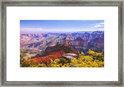 Grand Arizona Framed Print by Chad Dutson