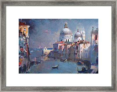 Grand Canal Venice Framed Print by Ylli Haruni