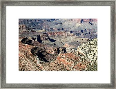 Grand Canyon Greatness Framed Print by Paul Cannon