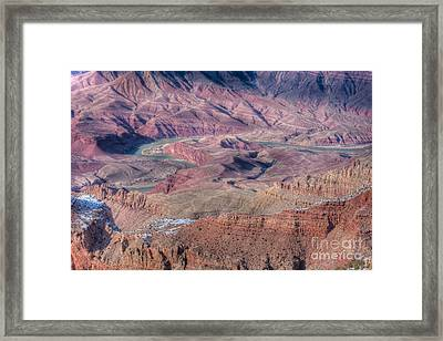 Grand Canyon Lipan Point Framed Print by Clarence Holmes