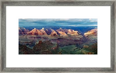 Grand Canyon South Rim Framed Print by Martin Massari