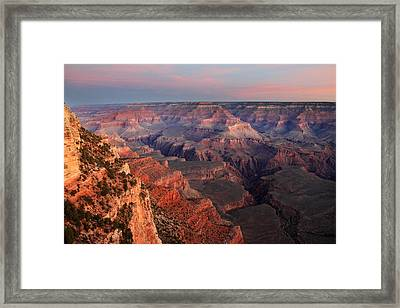 Grand Canyon Sunrise Framed Print by Pierre Leclerc Photography