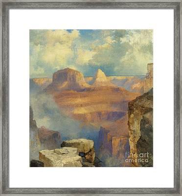 Grand Canyon Framed Print by Thomas Moran