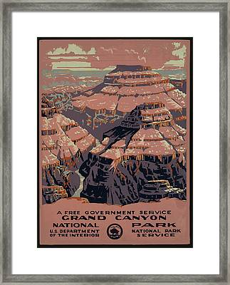 Grand Canyon Framed Print by Unknown