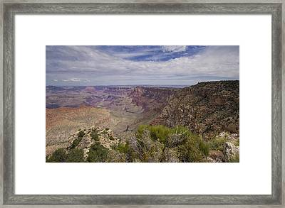 Grand Canyon's Desert View Framed Print by Stephanie McDowell
