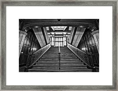Grand Case Framed Print by CJ Schmit