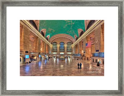 Grand Central Terminal V Framed Print by Clarence Holmes