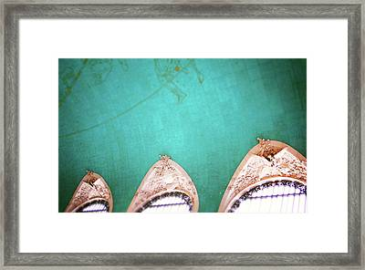 Grand Central Windows- By Linda Woods Framed Print by Linda Woods