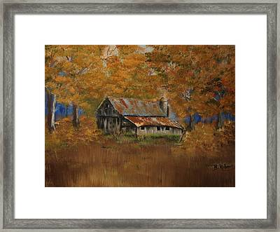 Grand Dad's Farm #1 Framed Print by Bobbie Roberts