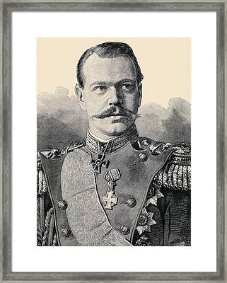 Grand Duke Alexander Alexandrovitch Framed Print by Vintage Design Pics
