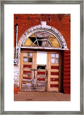 Grand Entrance Framed Print by Jame Hayes