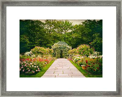 Grand Entrance Framed Print by Jessica Jenney