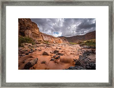 Grand Falls #1 Framed Print by Jon Manjeot