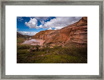 Grand Falls #2 Framed Print by Jon Manjeot