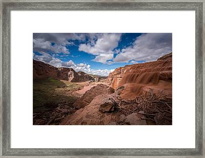 Grand Falls #3 Framed Print by Jon Manjeot