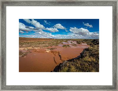 Grand Falls #5 Framed Print by Jon Manjeot