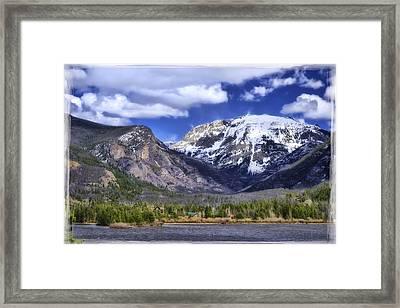 Grand Lake Co Framed Print by Joan Carroll