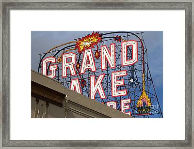 Grand Lake Theatre . Oakland California . 7d13495 Framed Print by Wingsdomain Art and Photography