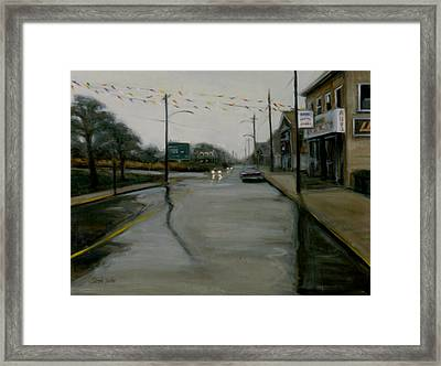 Grand Opening Framed Print by Sarah Yuster