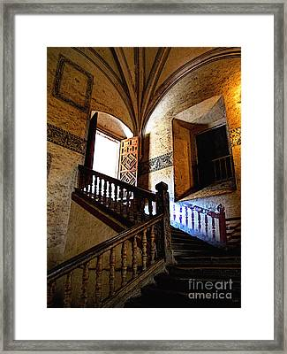 Grand Staircase 2 Framed Print by Mexicolors Art Photography