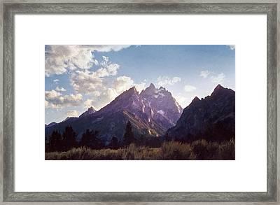 Grand Teton Framed Print by Scott Norris