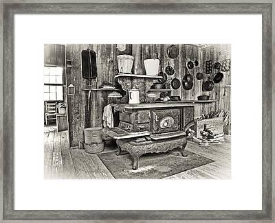 Grandmas House Framed Print by Patrick M Lynch