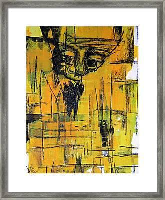 Grandpa Framed Print by Jera Sky