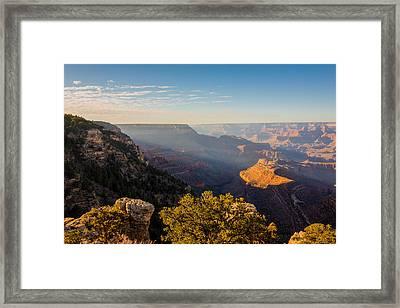 Grandview Sunset - Grand Canyon National Park - Arizona Framed Print by Brian Harig