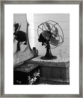 Granny's Dresser Framed Print by Cheri Randolph