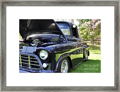 Grape Fully Blown Pickup Framed Print by Clayton Bruster