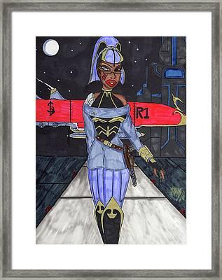 Grand Dutchess  Framed Print by Ronald Woods