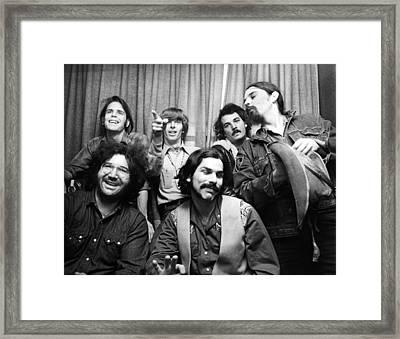 Grateful Dead 1970 London Framed Print by Chris Walter