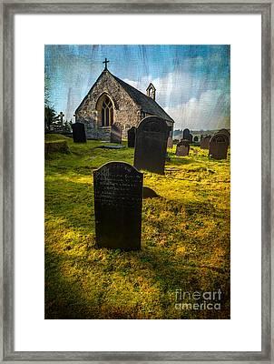 Grave Yard Framed Print by Adrian Evans