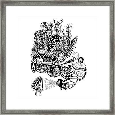 Graviola I Framed Print by Crab Apple