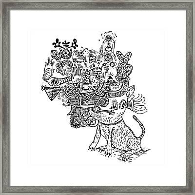 Graviola II Framed Print by Crab Apple