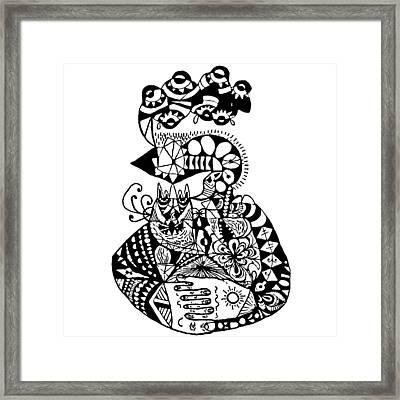 Graviola Iv Framed Print by Crab Apple