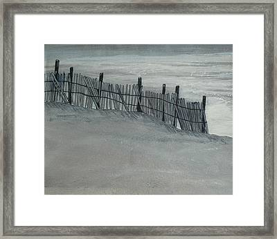 Gray Day Framed Print by Jeffrey Engle