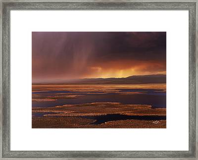 Grays Lake Splendor Framed Print by Leland D Howard