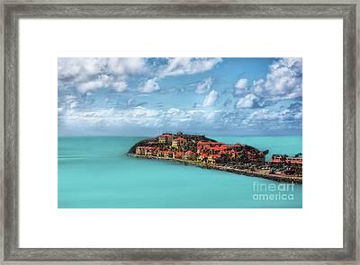 Great Bay Framed Print by Arnie Goldstein