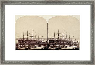 Great Eastern 1859 Framed Print by Granger